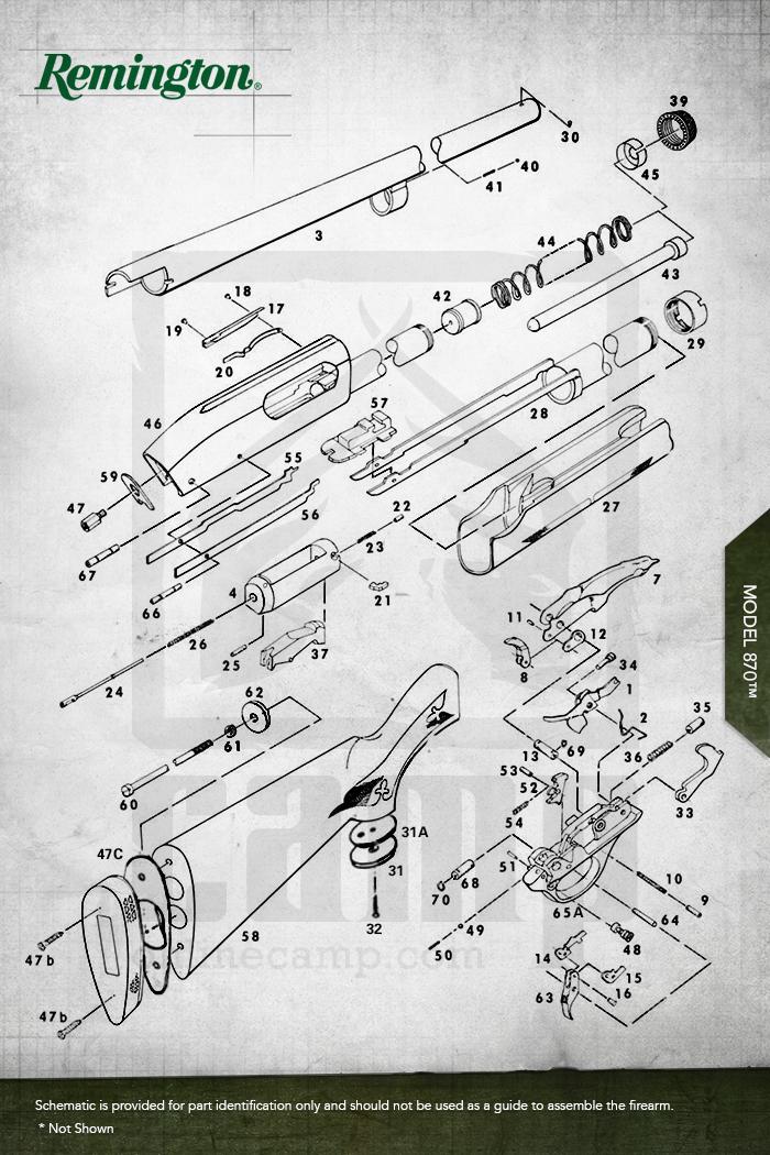 Stock Replacement Parts : Model ™ shotguns remington replacement parts oem