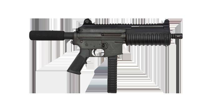 Pistol Carbon 15 9MM Type 21S