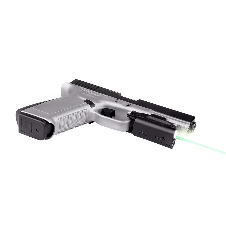 SPS-C-G LaserMax Spartan Green Laser//Light Combo Adjustable Fit Black