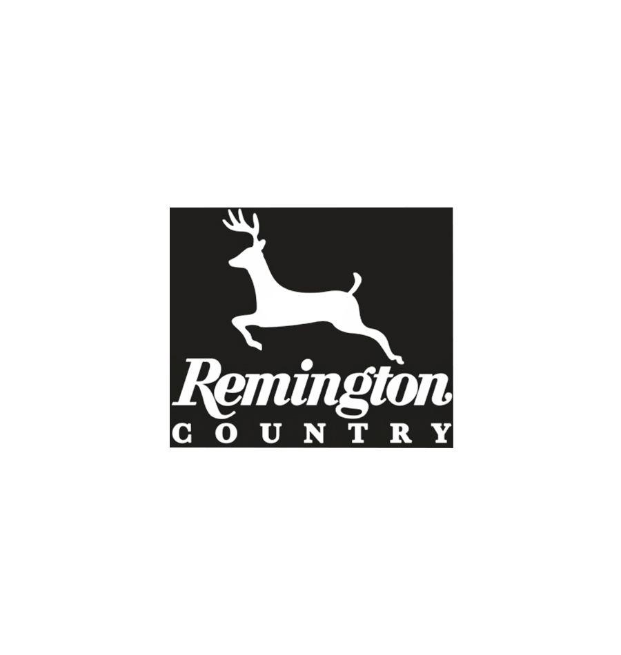 17418 : Remington® White Vinyl - Die Cut Decals Remington Country - Deer  Clampack
