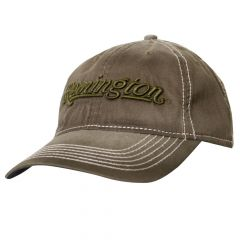 RM51C : Remington Cotton Washed Cap - Olive (Low Crown)