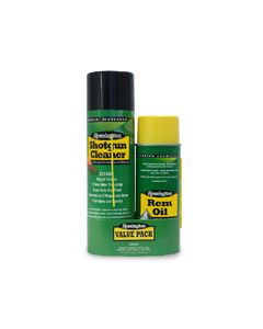 17323 : Rem® Oil 10 oz. & Shotgun Cleaner 18 oz. aerosol Combo ( Bi-lingual/Health Canada Approved )