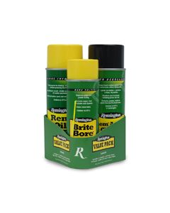 18157 : Rem® Oil, Brite Bore™ & Rem® Action Cleaner 3-Step Value Pack ( Bi-lingual/Health Canada )