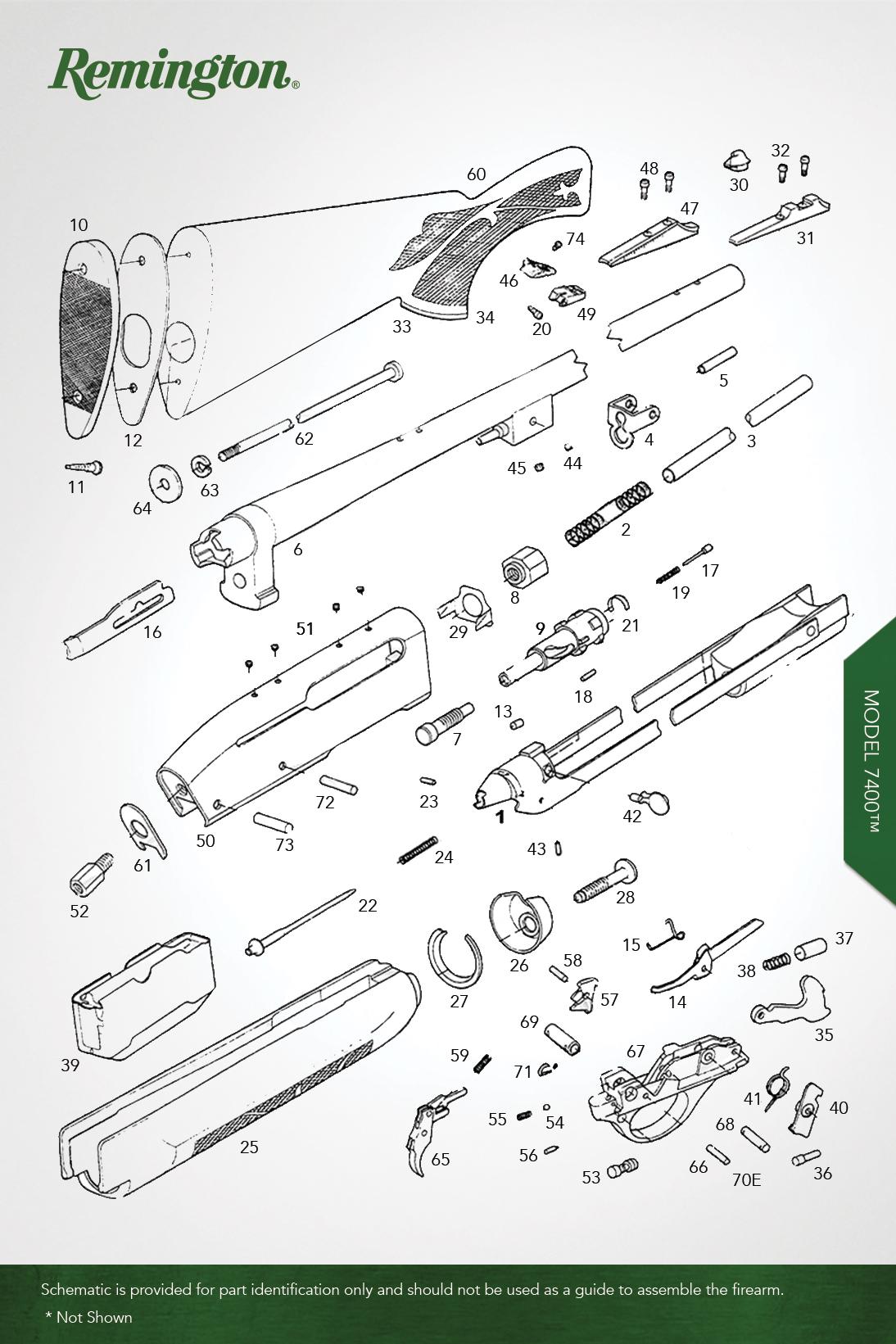 Remington Model 700 Parts Diagram Centerfire Rifles Oem Store Gravelagency Com