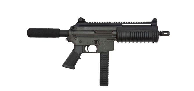 Carbon 15 9MM Type 21S Pistol