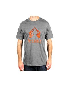 CampTv-250GRH-M : LeCamp Hand Drawn T-Shirt Medium - Graphite Heather