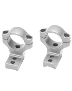 "19730 : Rifle 783™ Integral Scope Mounts (Medium) Fits 1"" Scope Tube - Silver"