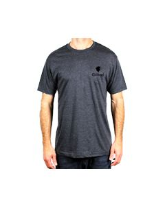GA-300CHA-M : Gravel Agency / Remington® T-Shirt Medium - Charcoal