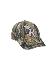 RM16D : Remington® Mossy Oak® Break-Up Country® with Purple Logo Cap