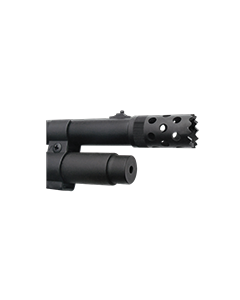 GS21E : Muzzle brake installation, Seamless fitting complete firearm blueing satin or matte