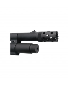 GS21D : Muzzle brake installation, Seamless fitting complete firearm high gloss blueing